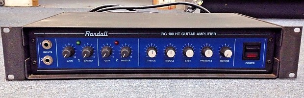 randall rg100ht guitar amplifier solid state rack mount unit reverb. Black Bedroom Furniture Sets. Home Design Ideas