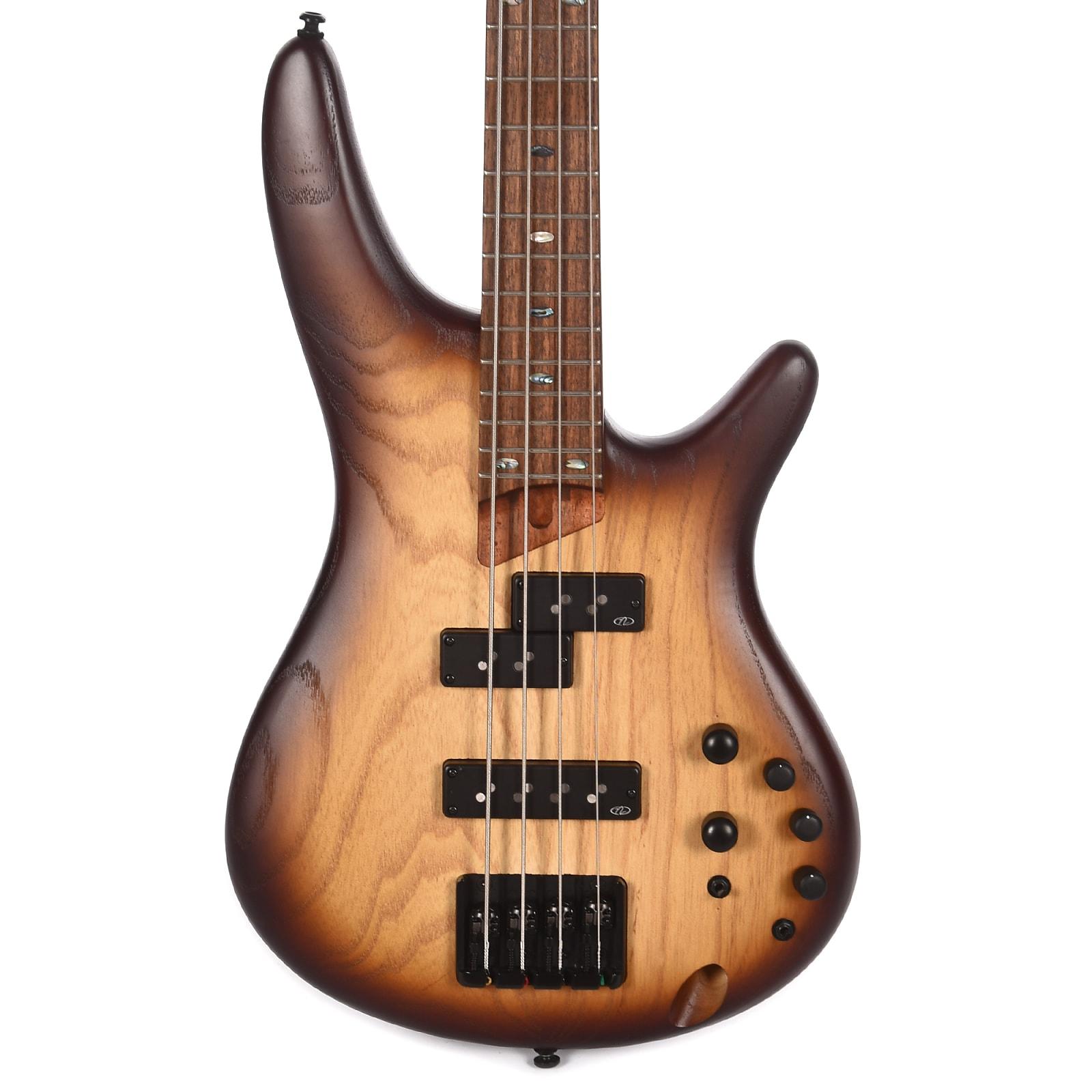Ibanez SR650E SR Standard Bass Natural Browned Burst Flat