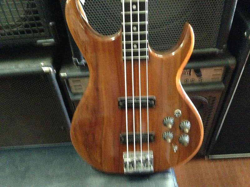 carvin lb60 koa bass guitar brown reverb. Black Bedroom Furniture Sets. Home Design Ideas