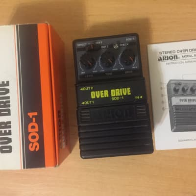 Arion SOD-1 Overdrive pedal 1980's Vintage for sale