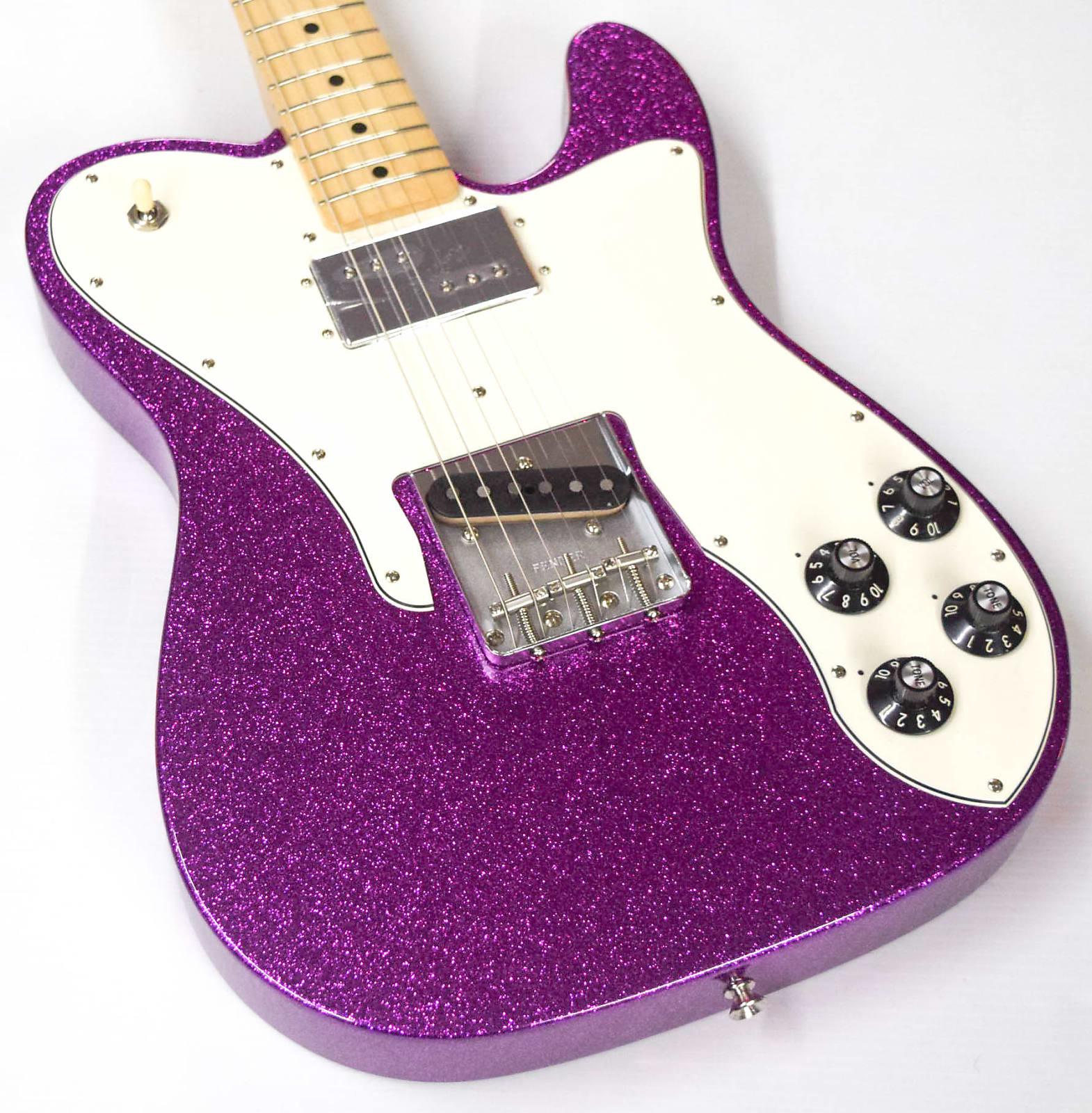 fender limited edition 39 72 telecaster custom 2018 purple sparkle. Black Bedroom Furniture Sets. Home Design Ideas