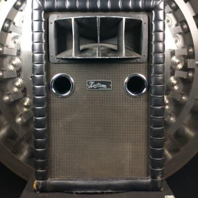 Kustom Tuck And Roll Bass Speaker Cabinet w/ Horn