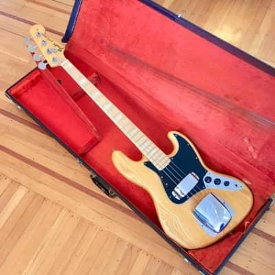 Fender Jazz bass c 1975 Natural original vintage usa j