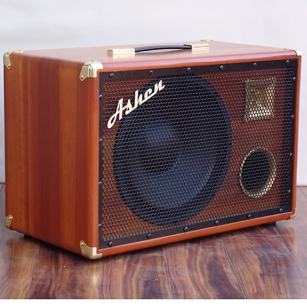 ashen amps woody 1x12 bass cab with tweeter reverb. Black Bedroom Furniture Sets. Home Design Ideas