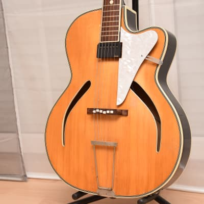 Klira Pinguin – 1960s German Vintage Archtop Jazz Guitar / Gitarre for sale