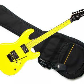 Dean Custom Zone Yellow