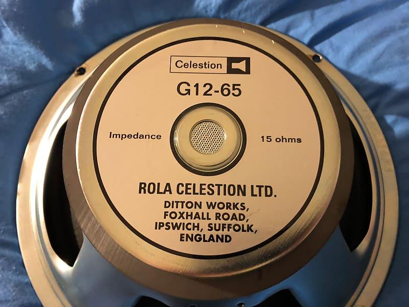 celestion g12 65 guitar speaker 15 ohms graham 39 s gear reverb. Black Bedroom Furniture Sets. Home Design Ideas