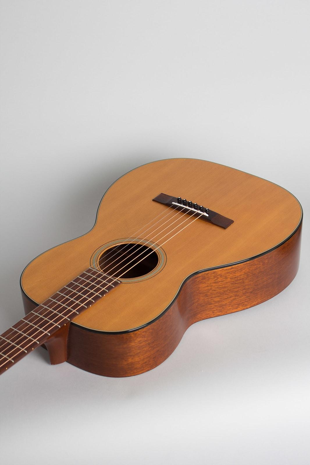 C. F. Martin  0-16NY Flat Top Acoustic Guitar (1968), ser. #231949, black chipboard case.