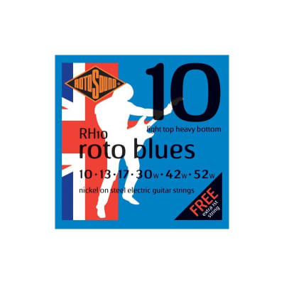 Rotosound Roto Blues Electric Strings 10-52