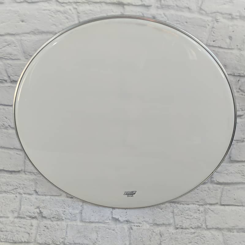 ludwig 28 ensemble smooth white bass drum head reverb. Black Bedroom Furniture Sets. Home Design Ideas