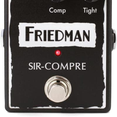 Friedman Sir Compre Compressor Pedal with Built-In Overdrive for sale