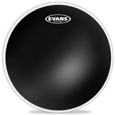 "Evans 14"" Black Chrome Drum Head"