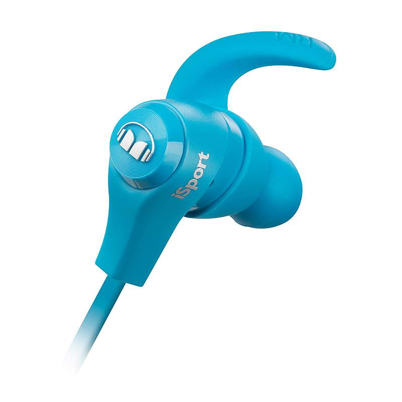 db64ea2e6da Monster MH-ISRT-WL-IE-BL-BT-WW iSport Bluetooth Wireless In-Ear Headphones  in Blue(Used)