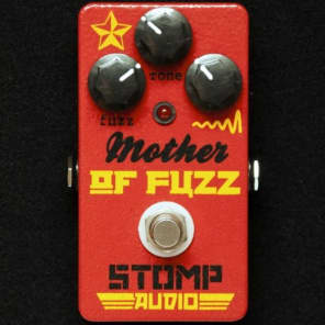 NEW! Stomp Audio Labs Mother Of Fuzz - Germanium Fuzz Red FREE SHIPPING!