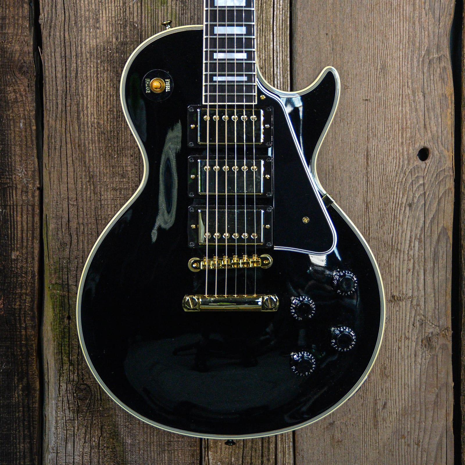 Gibson Custom Shop 20th Anniversary 1957 Les Paul Custom Reissue 2013 Ebony Gloss