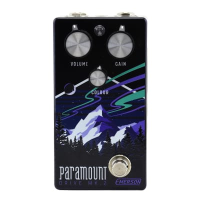 Emerson Custom Paramount MK2 Overdrive Pedal for sale