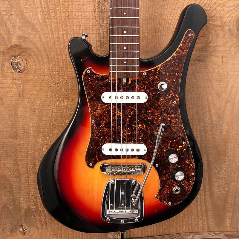 Mory Sappho 3 Vintage MIJ Electric Guitar Sunburst c. 1960s Japan