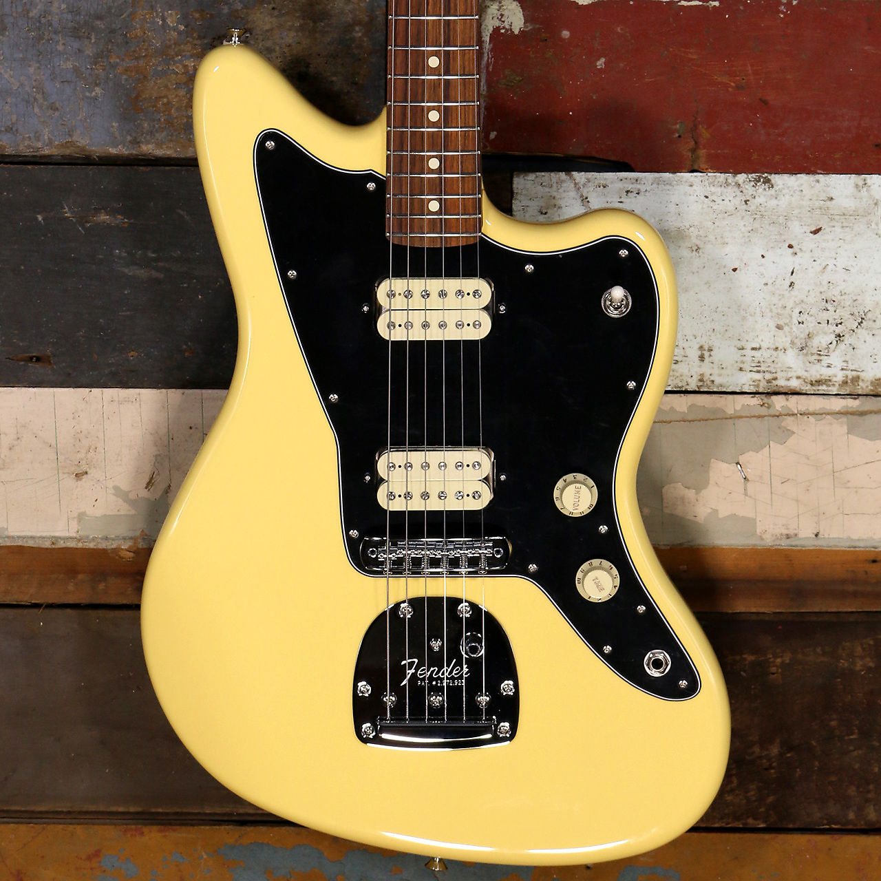 Fender Player Jazzmaster Buttercream - Pau Ferro