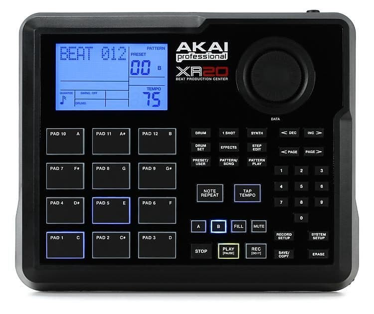 akai professional xr20 beat production station reverb. Black Bedroom Furniture Sets. Home Design Ideas