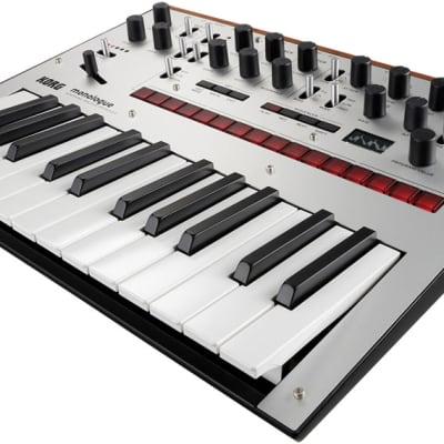 Korg Monologue Monophonic Analogue Synthesizer - Silver