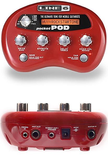 Line 6 Pocket POD® Legendary POD® Tone To-Go
