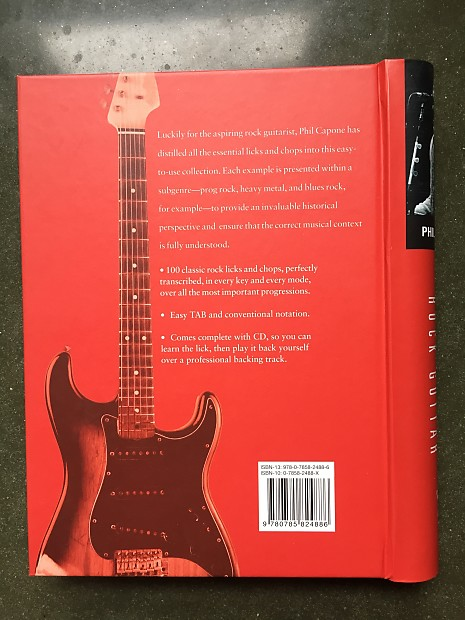 Guitar Book - Hard Cover 100 Killer Licks & Chops for Rock Guitar
