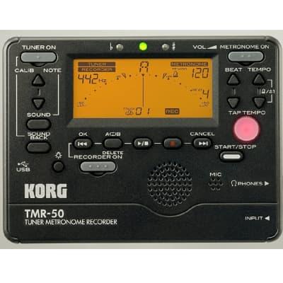 Korg  TMR-50 Tuner Metronome Recorder  Black