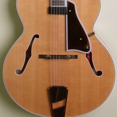 Campellone Model Deluxe Archtop 2004 Blonde for sale