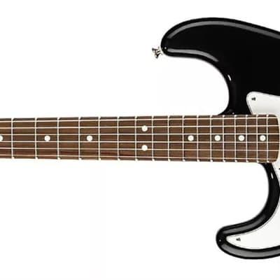 Fender Standard Stratocaster® Left-Handed, Rosewood Fingerboard, Black 0144620506 for sale