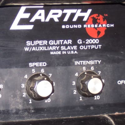 Earth G-2000 Super Guitar Head for sale