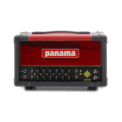 Panama Shaman 20w Tube Guitar Amplifier Head - Zorro Red/Graphite/Scarlett