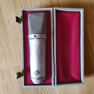 Neumann U 87 Large Diaphragm Multipattern Condenser Microphone 1967 - 1985 Nickel