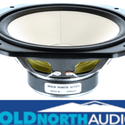 """Bold North Audio MS10-W 7"""" - 8 Ohm Square Replacement Woofer for Yamaha NS-10™ Studio Monitor"""