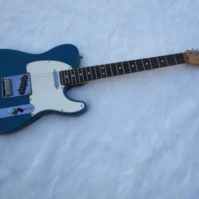 Fender Telecaster 1998 American Standard Aqua Marine Sparkle Clean! for sale