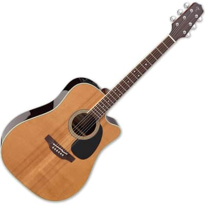 Takamine EF360SC TT Dreadnought Acoustic Guitar Natural Gloss