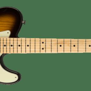 Fender Parallel Universe Strat-Tele Hybrid, Maple Fingerboard, 2-Color Sunburst 885978860098 NEW