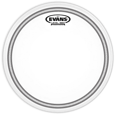"Evans B06EC2S EC2 Coated Drum Head - 6"""