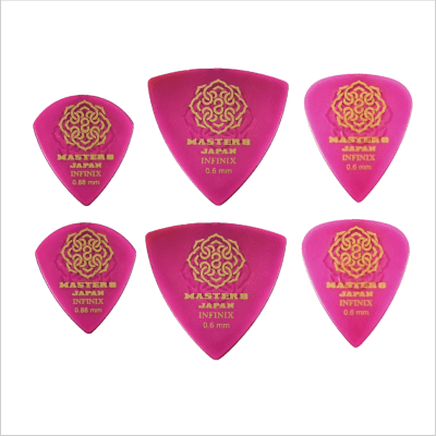 Master 8 INFINIX-U and Hard Polish Grip Pick Demo Variety 6-Pack - Thin Gauge