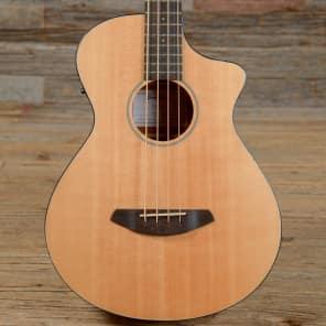 Breedlove Pursuit Bass Concert Cutaway Acoustic/Electric Bass Guitar Gloss Natural 2016