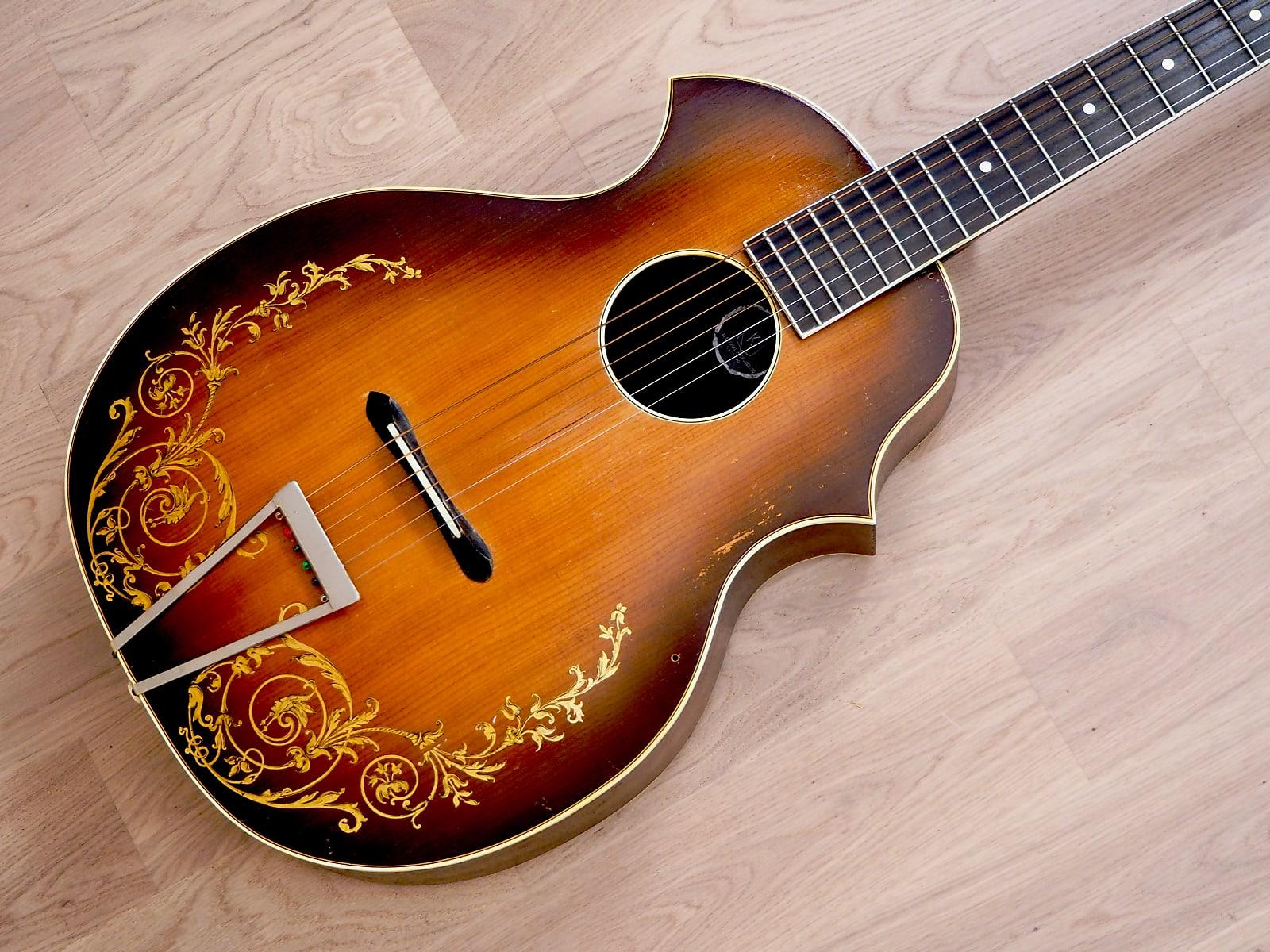 1930s Kay Kraft Style A Venetian Vintage Archtop Acoustic Guitar w/ Case, Stromberg-Voisinet