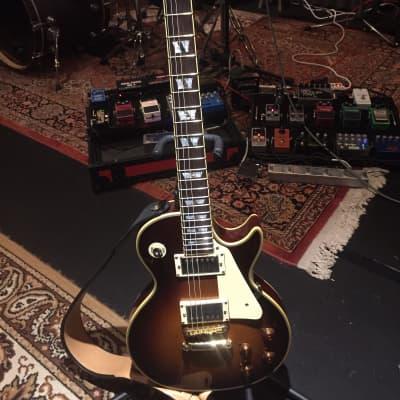 Fenix Singlecut Electric Guitar LP Style Iced Tea Sunburst for sale