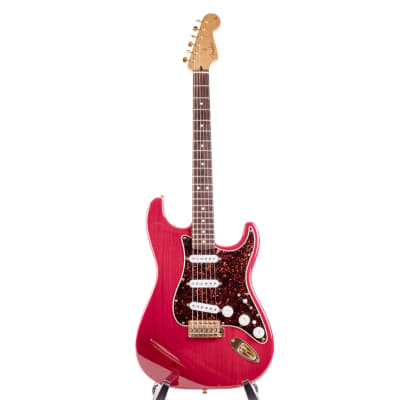 Fender Super Strat DeLuxe  2002 Crimson Red for sale