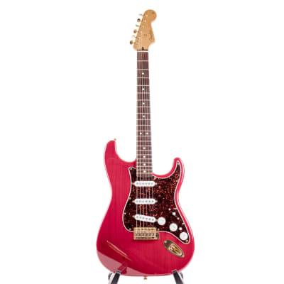 Fender Super Strat DeLuxe  2002 Crimson Red for sale