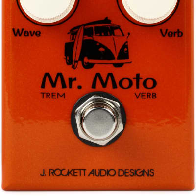 J. Rockett Audio Designs Mr. Moto Tremolo & Reverb Pedal for sale