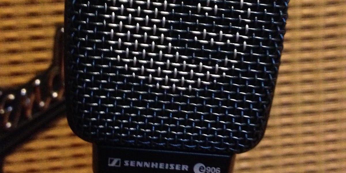 sennheiser e906 supercardioid dynamic microphone reverb. Black Bedroom Furniture Sets. Home Design Ideas