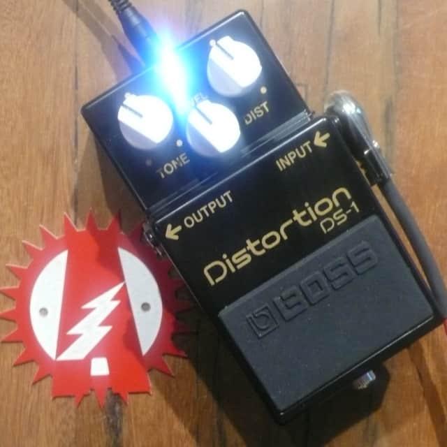"Boss DS-1 Distortion 40th Anniversary Alchemy Audio Modified ""Marshall"" Mod + Box image"