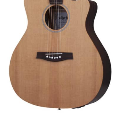 Schecter 3715 Acoustic Guitar, Natural Satin for sale
