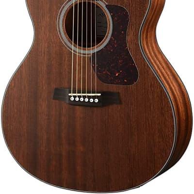 Walden G551E Natura Solid Mahogany Top Grand Auditorium Acoustic-Electric Guitar - Open Pore Satin Natural