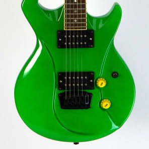 Switch Vibracell Electric Guitar Neon Green for sale