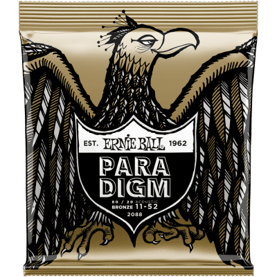 Ernie Ball Paradigm 80/20 Bronze Acoustic Light 2088 .011-.052